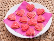 Рецепта Масленки с глазура за десерт за Свети Валентин